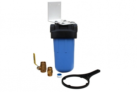 How to Install a Whole House Water Filter Picture