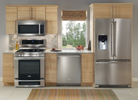 stainless steel refrigerator picture